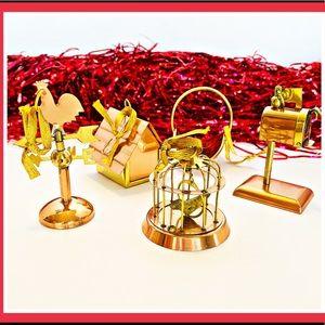 Other - Set of 5 Vintage Brass Ornaments